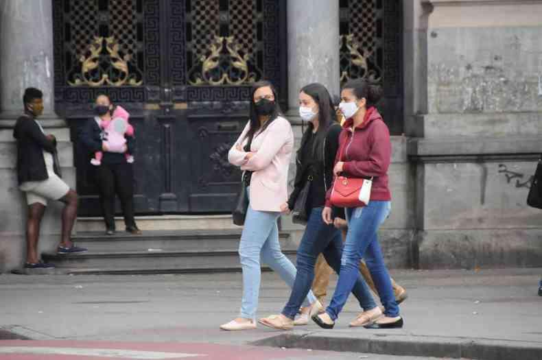 A partir de terça-feira (20/7), o tempo volta a esfriar em BH(foto: Juarez Rodrigues/EM/DA Press)