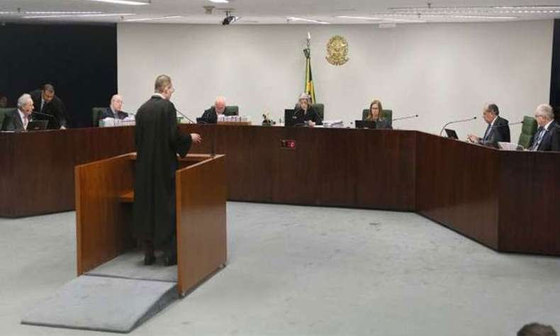 A sessão no STF ocorreu em meio às repercussões da divulgação de supostos diálogos entre juiz e procuradores (foto: Nelson Jr./SCO/STF)