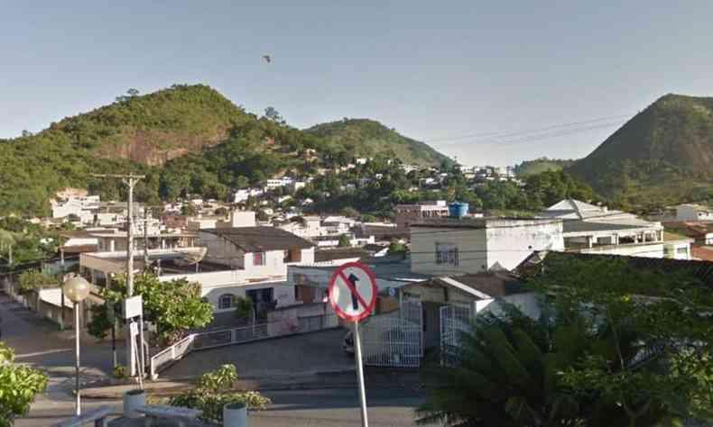 A tentativa de estupro aconteceu em Mantena, no Vale do Rio Doce(foto: Reprodução/Google Street View)