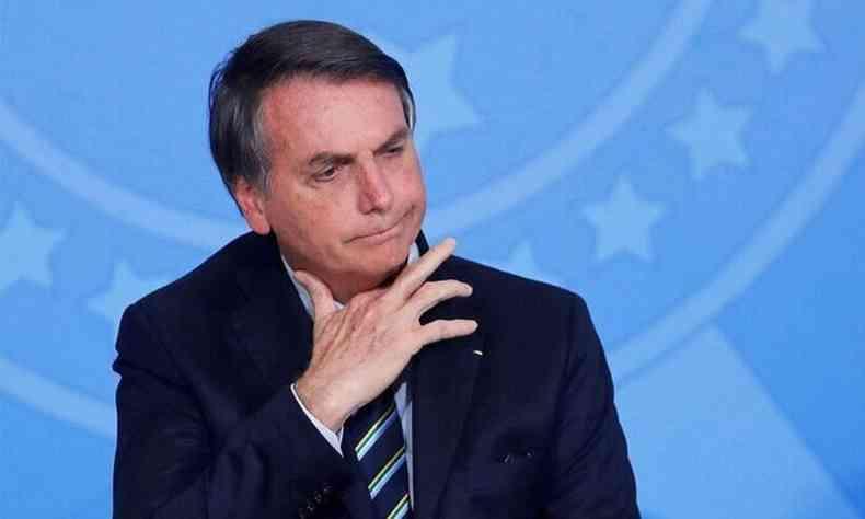 Bolsonaro diz em live que qualquer possibilidade de impeachment é 'politiqueira'(foto: AFP)
