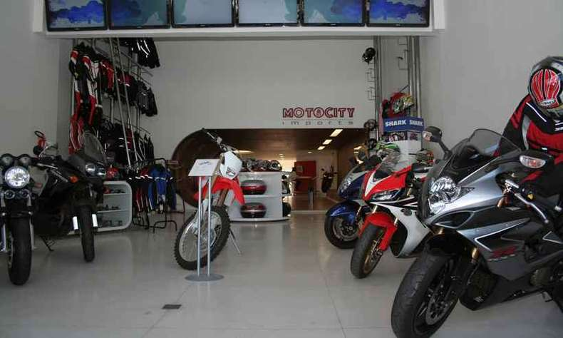 As vendas de motos no atacado cresceram 12,2% no primeiro semestre de 2018(foto: Marlos Ney Vidal/EM/D.A Press - )