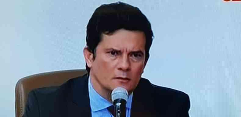 Ex-juiz Sérgio Moro anunciou que deixa o Ministério da Justiça e Segurança Pública(foto: Reprodução)