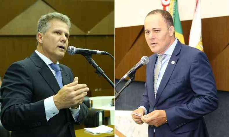 Léo Burguês e Ronaldo Batista tentarão se reeleger neste ano(foto: Karoline Barreto e William Delfino/Câmara Municipal de Belo Horizonte)