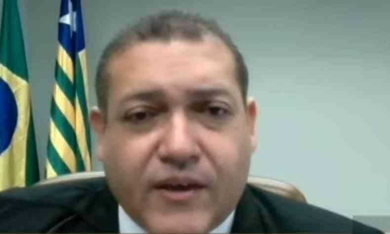 Nunes Marques havia sinalizado ir contra a decisão da Segunda Turma, mas votou pela suspeição de Moro(foto: STF/Reprodução)