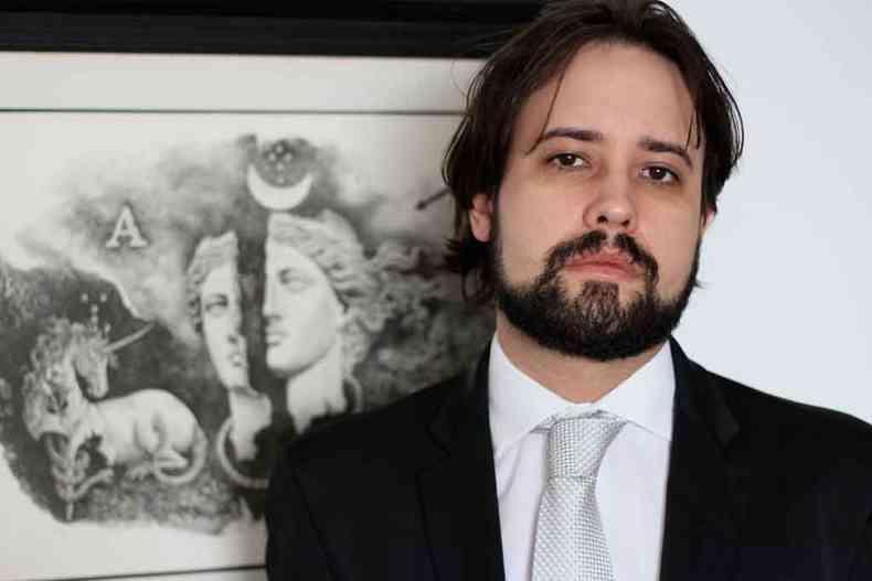 Estilo narrativo de Felipe Franco Munhoz não encontra similar na literatura contemporânea brasileira(foto: HELENA FRANCO/DIVULGAÇÃO)