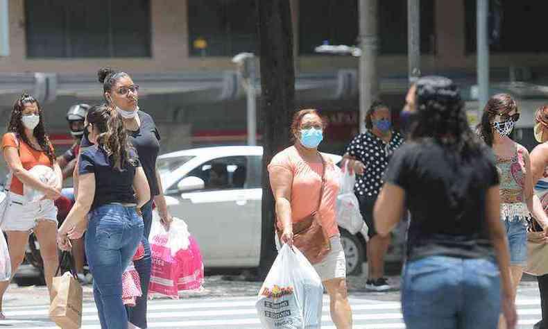 Minas Gerais acumula mais de 1,3 milhão de casos de COVID-19 (foto: Leandro Couri/EM/D.A Press)