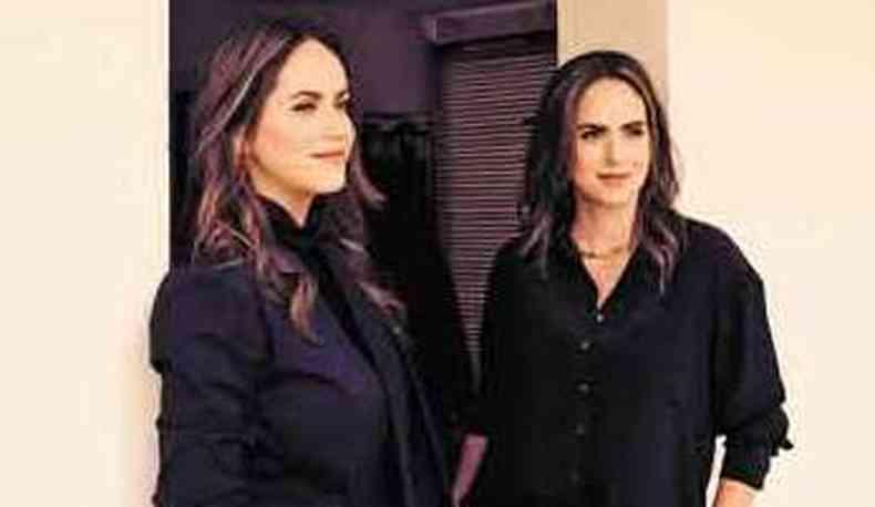 As gêmeas Marcela e Carolina Malloy(foto: Leca Novo/Divulgação)