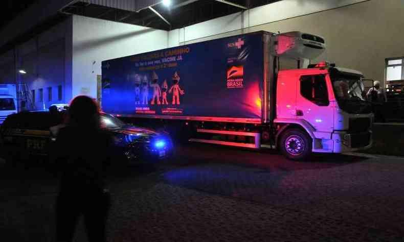 26º lote chegou de caminhão(foto: Marcos Vieira/ EM/ D.A Press)