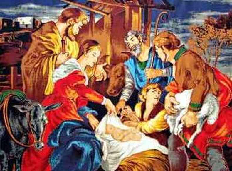 Nascimento do Menino Jesus une tradições gregas e romanas, além de liturgias de antigas religiões orientais(foto: Marcos Michelin/EM/D.A Press %u2013 15/12/11)