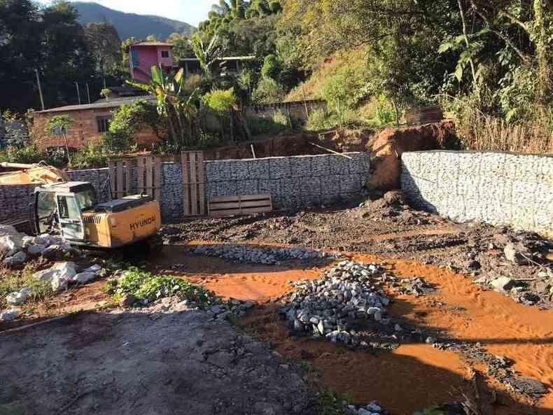 Obras devem ser concluídas até dezembro, segundo previsão da Vale e da prefeitura (foto: Prefeitura Municipal de Barão de Cocais)