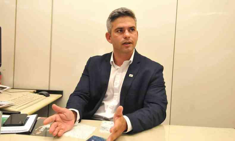 Servidor de carreira, Germano Vieira deixou governo mineiro nesta sexta-feira.(foto: Ramon Lisboa/EM/D.A Press)