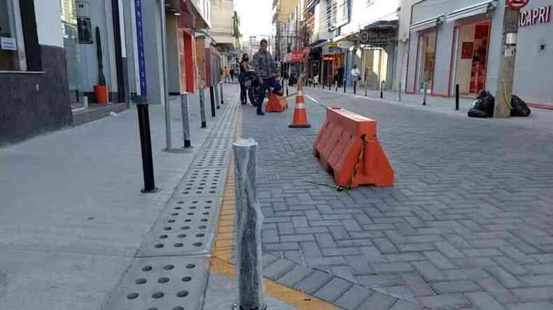 Requalificação da Adolfo Olinto prevê instalação de pequenas praças de convivência ao longo da rua(foto: Terra do Mandu )
