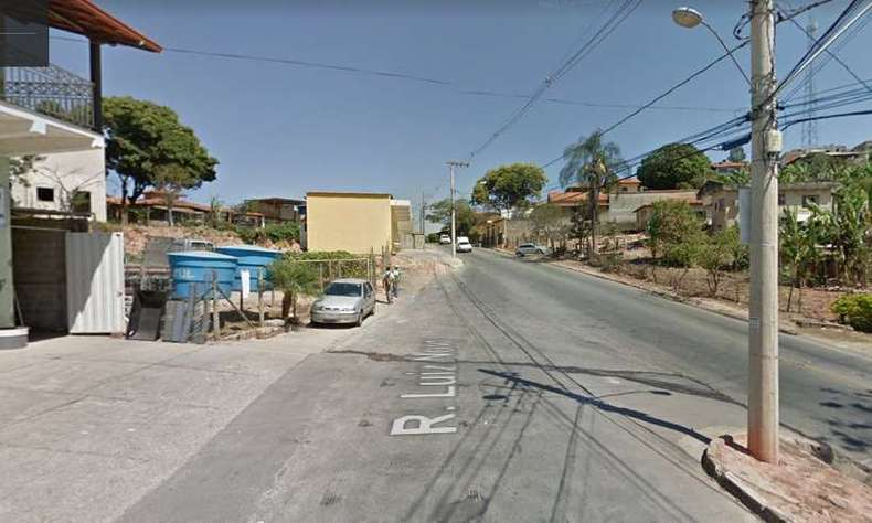 Local do crime, no bairro Colorado(foto: Reprodução/Google Street View)