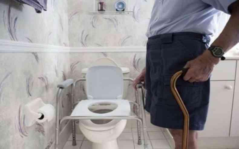 O idoso informou ao médico que só sentia alivio ao realizar atividades de movimento