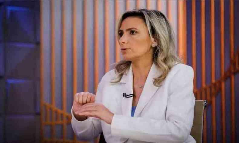 A médica Ludhmilla Hajjar já havia sido cotada e ontem esteve com Bolsonaro, mas é atacada por bolsonaristas por defender isolamento social(foto: Redes Sociais/Reprodução)