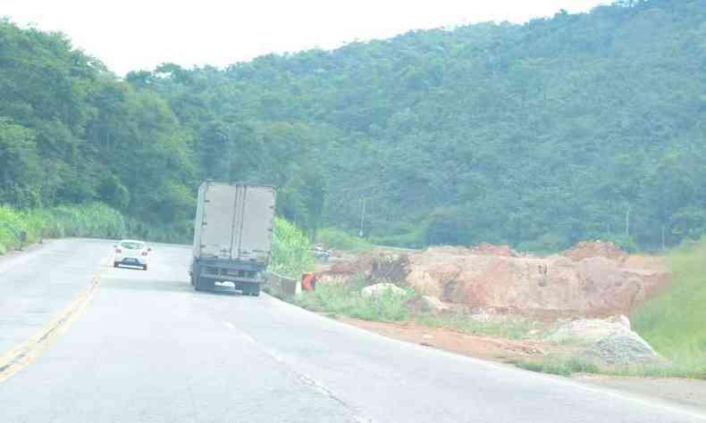 Crime ocorreu na BR-381, próximo a Sabará e Caeté(foto: Sidney Lopes/EM/D.A Press)