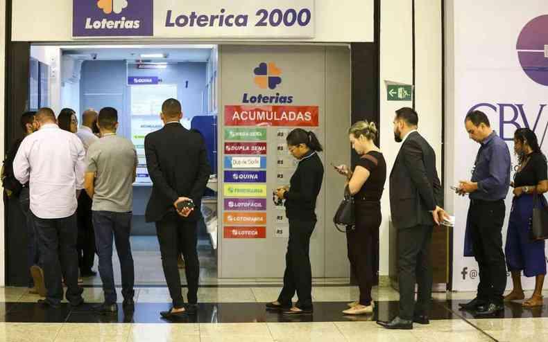 Somando as três loterias o valor chega a R$ 9,9 milhões