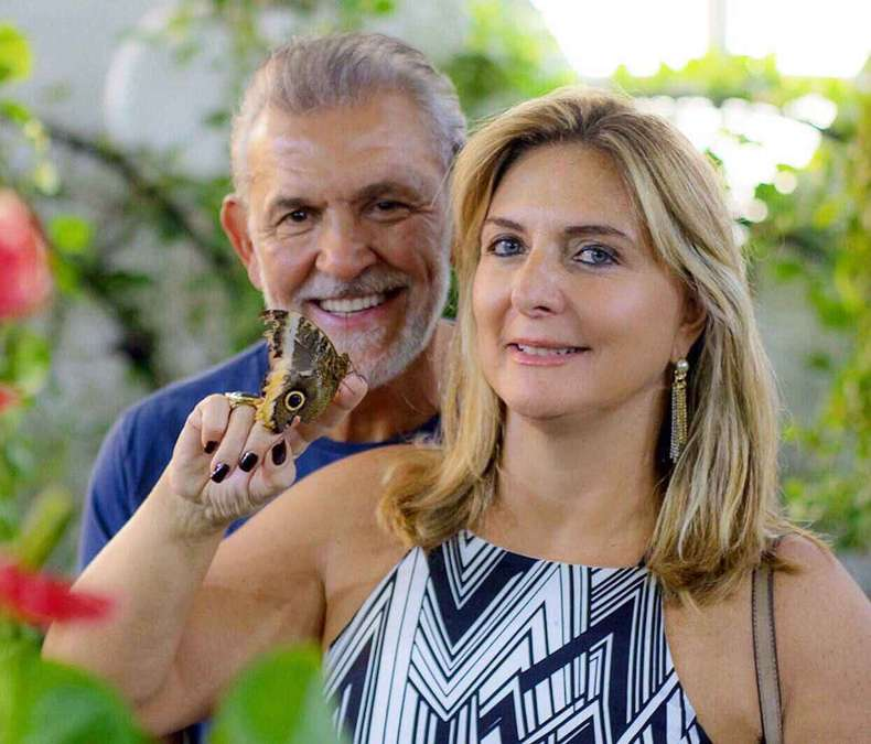 Luciene Amantea e Marco Antônio Ferreira(foto: Arquivo pessoal)