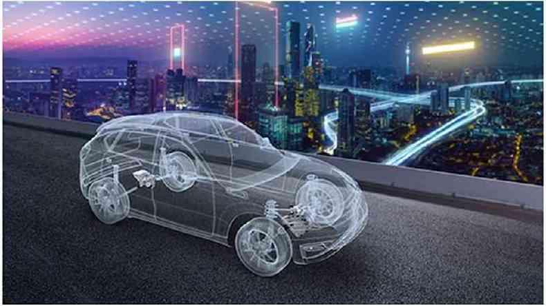 A LG fez parceria com a empresa automotiva Magna International para fabricar peças para carros elétricos(foto: Magna)