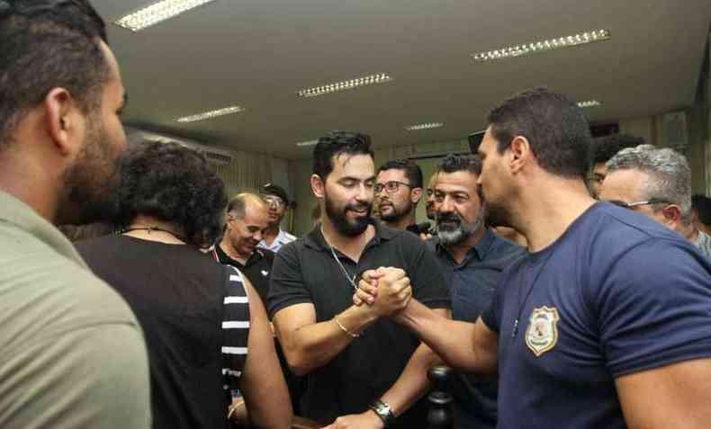 Prefeito Christiano Xavier foi absolvido pela Câmara Municipal de Santa Luzia(foto: Jair Amaral/EM/D. A. Press)