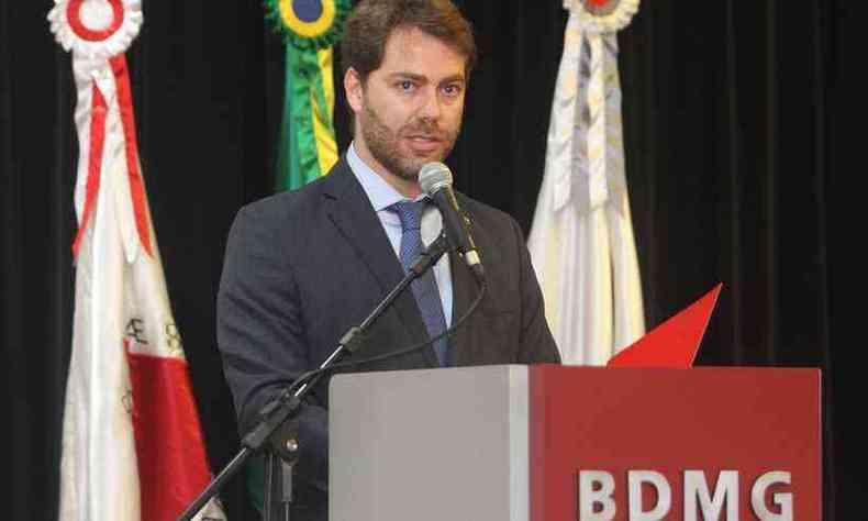Diretor-presidente do BDMG, Sergio Gusmão, anunciou novas medidas(foto: Jair Amaral/EM/D.A. Press)