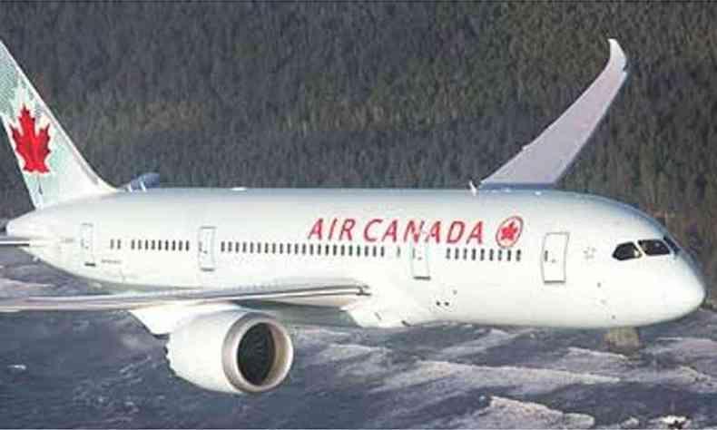 (foto: Air Canada/Divulgação)