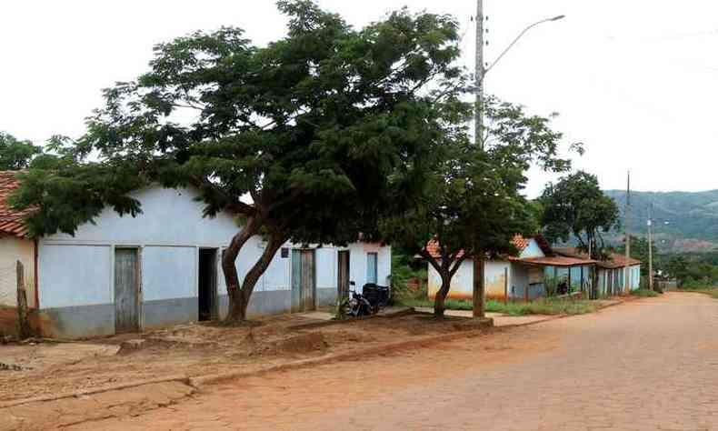 A Vila São José, em Jenipapo de Minas, é o retrato da falta de oportunidades na região(foto: Solon Queiroz/Especial para o EM )