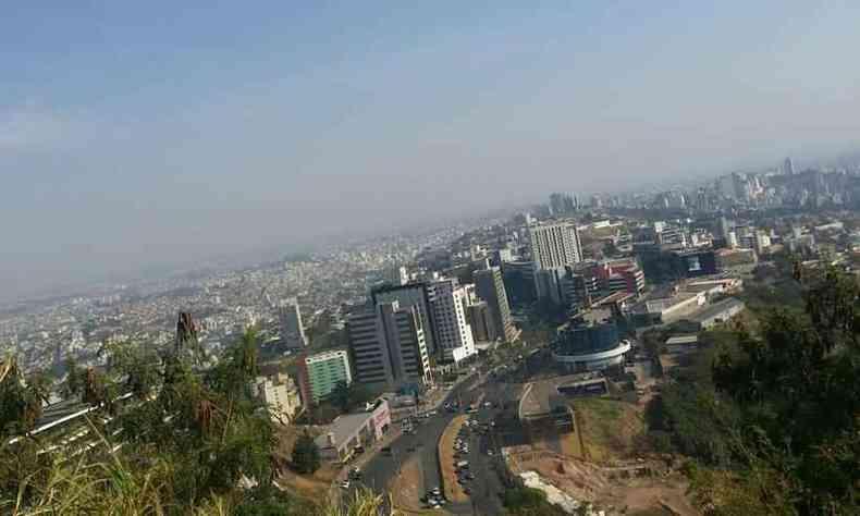 Manhã desta segunda (20/9) em Belo Horizonte