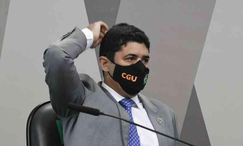 Ministro da Controladoria-Geral da União (CGU), Wagner Rosário