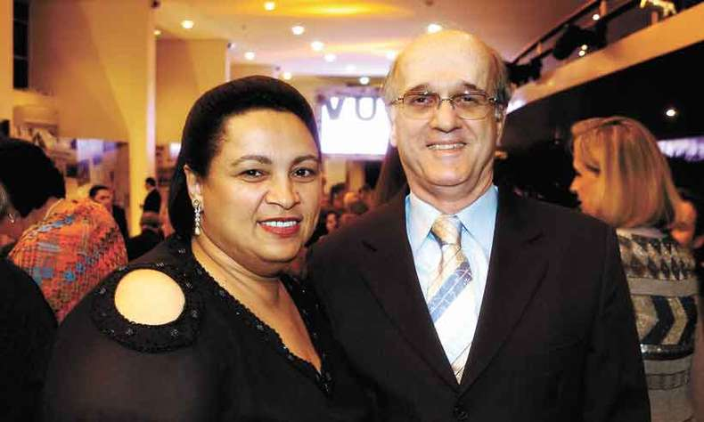 Edna Roriz e Sergio Peixoto(foto: Arquivo pessoal)