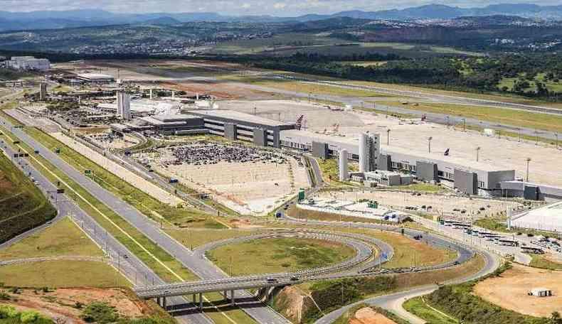 Entre os dias 4 e 8 de setembro o aeroporto deverá receber cerca de 400 aeronaves(foto: Divulgação/BH Airport)