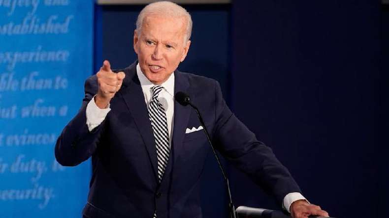 Em debate contra Trump, o candidato democrata Joe Biden criticou a política ambiental do Brasil(foto: Getty Images)