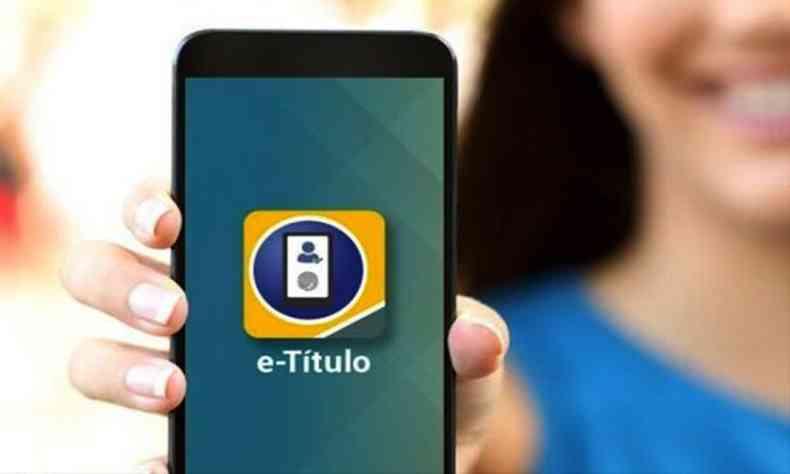 Aplicativo e-Título poderá ser utilizado para justificar ausência nas eleições de 2020(foto: Divulgação/TSE)