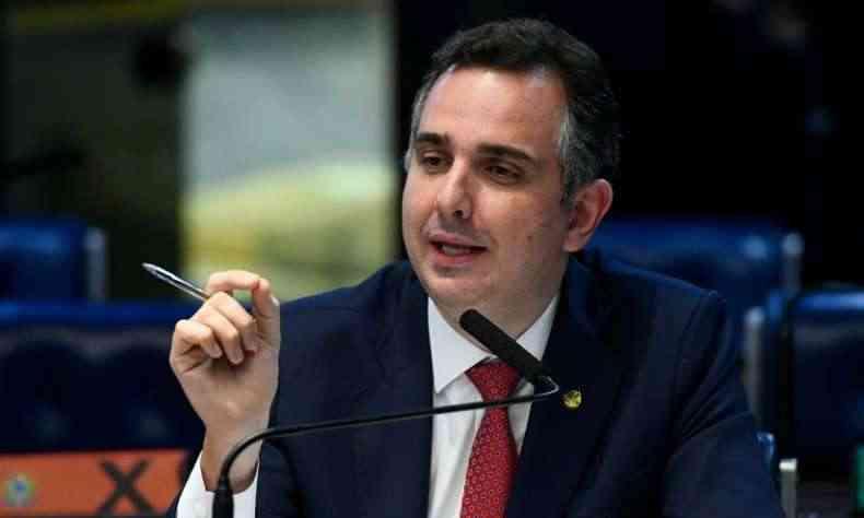 Rodrigo Pacheco oficializa candidatura à presidência do Senado - Politica - Estado de Minas